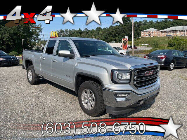 2017 GMC Sierra 1500 for sale at J & E AUTOMALL in Pelham NH