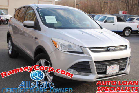 2013 Ford Escape for sale at Ramsey Corp. in West Milford NJ