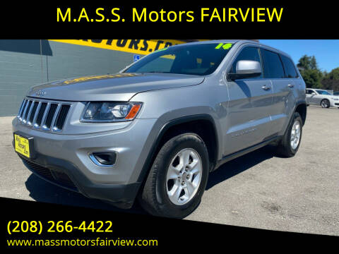 2014 Jeep Grand Cherokee for sale at M.A.S.S. Motors - Fairview in Boise ID