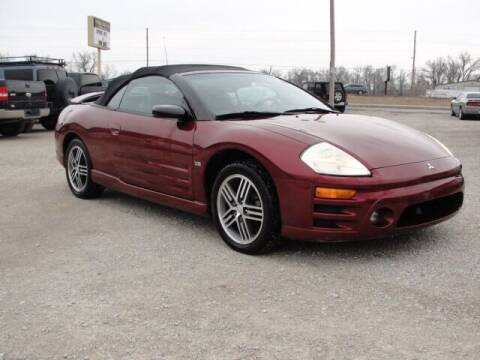 2003 Mitsubishi Eclipse Spyder for sale at Frieling Auto Sales in Manhattan KS