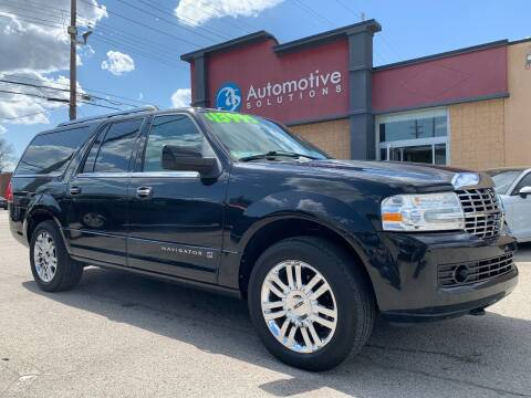 2010 Lincoln Navigator L for sale at Automotive Solutions in Louisville KY