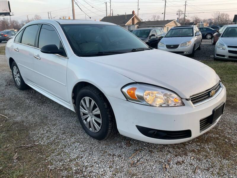 2010 Chevrolet Impala for sale at Quality Motors Inc in Indianapolis IN