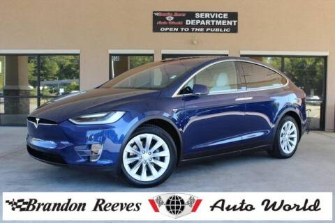 2017 Tesla Model X for sale at Brandon Reeves Auto World in Monroe NC