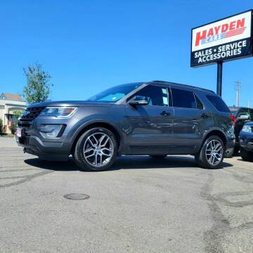 2017 Ford Explorer for sale at Hayden Cars in Coeur D Alene ID