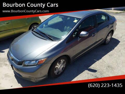 2012 Honda Civic for sale at Bourbon County Cars in Fort Scott KS