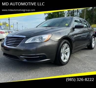 2014 Chrysler 200 for sale at MD AUTOMOTIVE LLC in Slidell LA