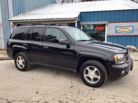 2008 Chevrolet TrailBlazer for sale at Vans Motor Sales Inc in Traverse City MI