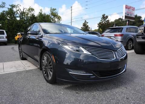 2014 Lincoln MKZ for sale at Grant Car Concepts in Orlando FL