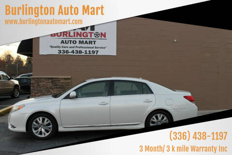 2011 Toyota Avalon for sale at Burlington Auto Mart in Burlington NC