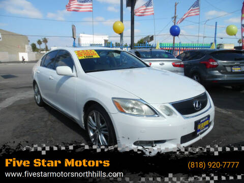 2007 Lexus GS 450h for sale at Five Star Motors in North Hills CA