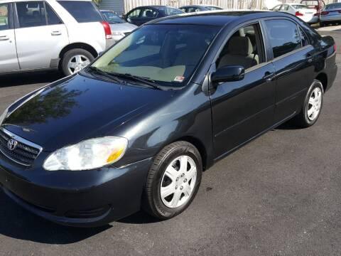 2006 Toyota Corolla for sale at Premier Auto Sales Inc. in Newport News VA