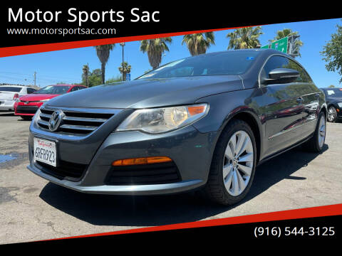 2012 Volkswagen CC for sale at Motor Sports Sac in Sacramento CA