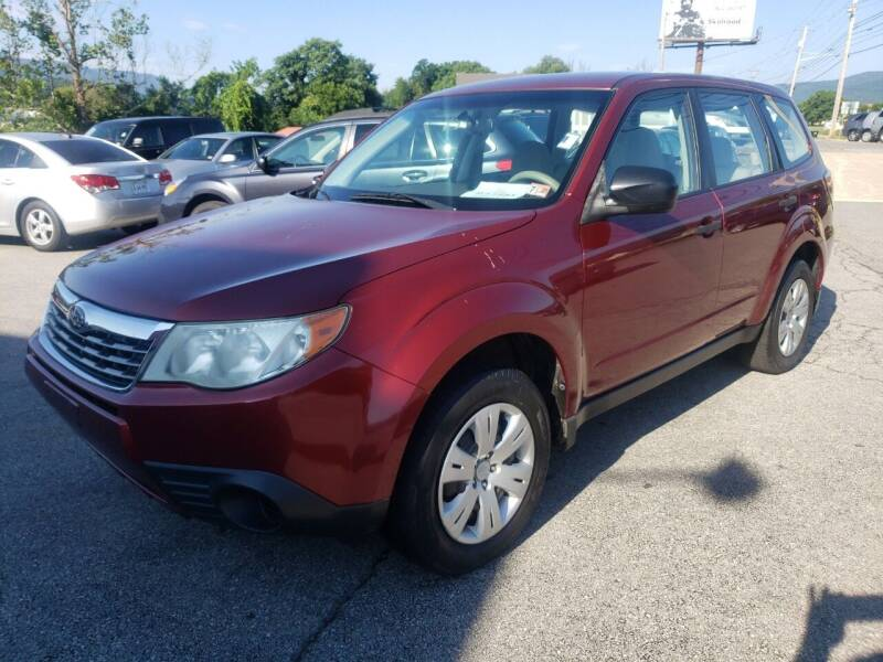 2010 Subaru Forester for sale at Salem Auto Sales in Salem VA