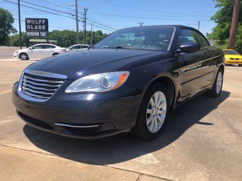 2012 Chrysler 200 Convertible for sale at Wolff Auto Sales in Clarksville TN