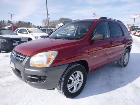 2007 Kia Sportage for sale at Country Side Car Sales in Elk River MN