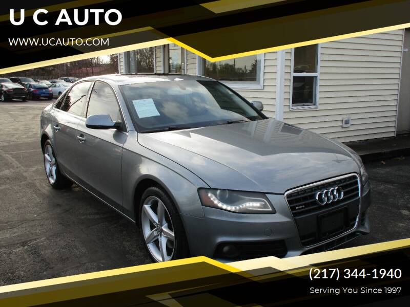 2010 Audi A4 for sale at U C AUTO in Urbana IL
