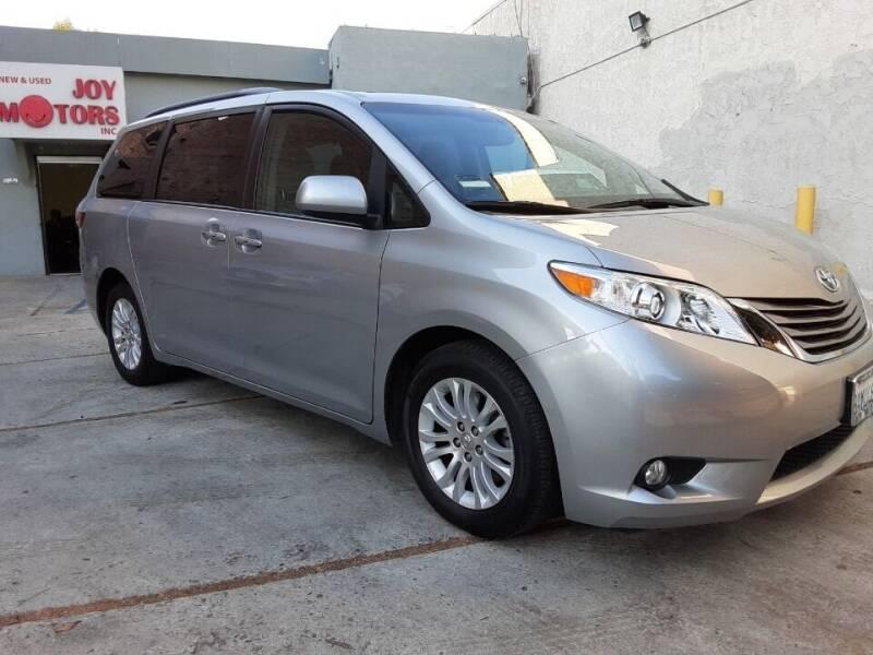 2017 Toyota Sienna for sale at Joy Motors in Los Angeles CA