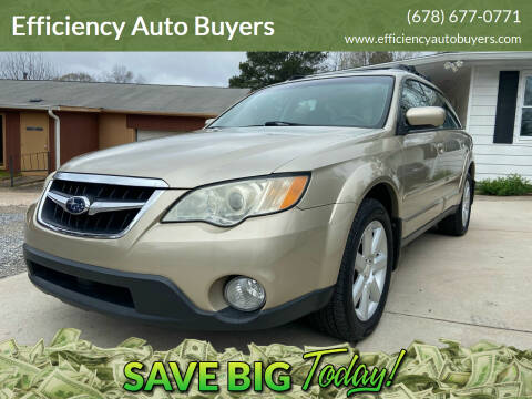2008 Subaru Outback for sale at Efficiency Auto Buyers in Milton GA
