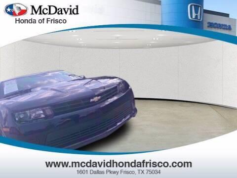 2015 Chevrolet Camaro for sale at DAVID McDAVID HONDA OF IRVING in Irving TX