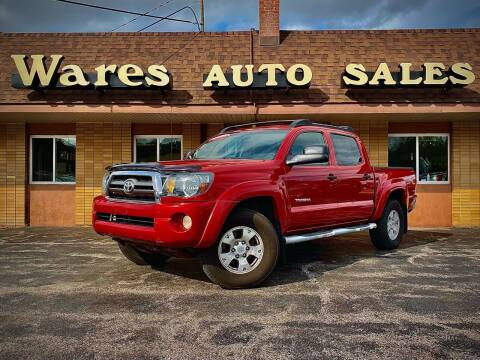 2009 Toyota Tacoma for sale at Wares Auto Sales INC in Traverse City MI