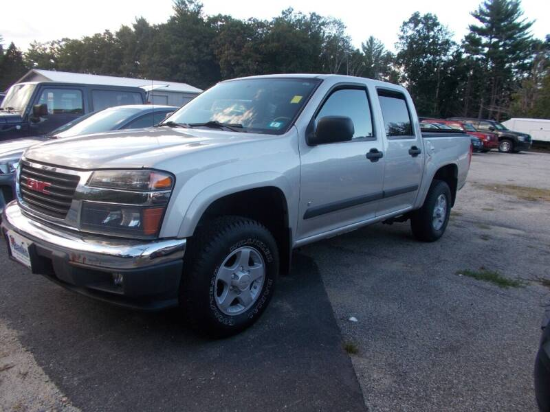 2007 GMC Canyon for sale at Manchester Motorsports in Goffstown NH