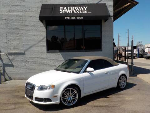 2009 Audi A4 for sale at FAIRWAY AUTO SALES, INC. in Melrose Park IL