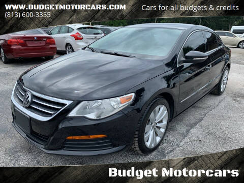 2012 Volkswagen CC for sale at Budget Motorcars in Tampa FL