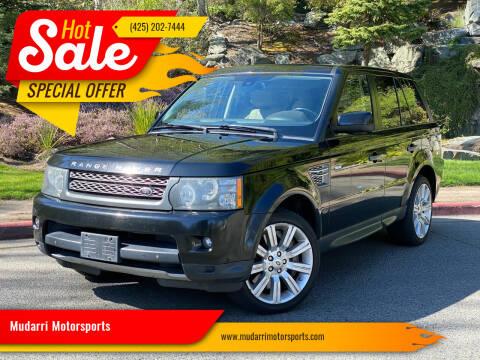 2011 Land Rover Range Rover Sport for sale at Mudarri Motorsports in Kirkland WA