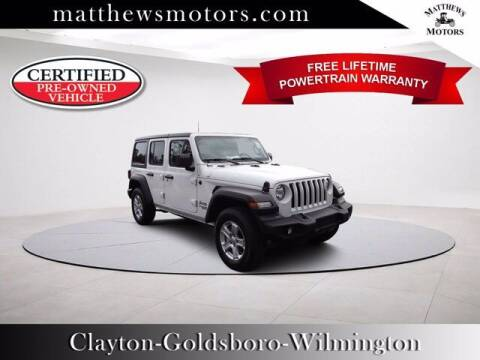 2019 Jeep Wrangler Unlimited for sale at Auto Finance of Raleigh in Raleigh NC