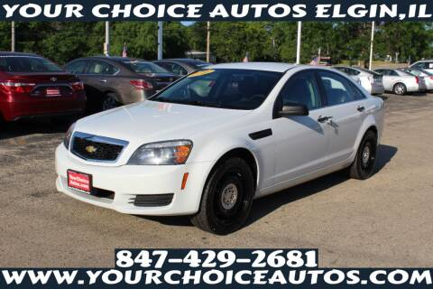 2016 Chevrolet Caprice for sale at Your Choice Autos - Elgin in Elgin IL