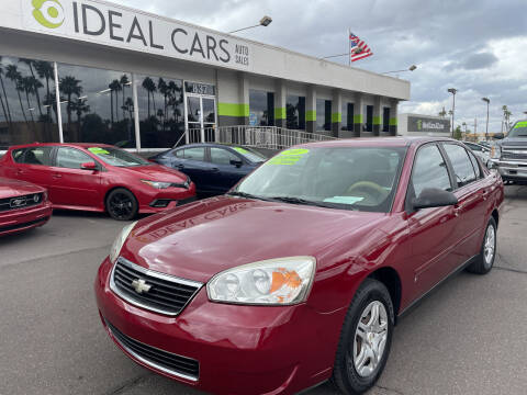 2007 Chevrolet Malibu for sale at Ideal Cars Broadway in Mesa AZ