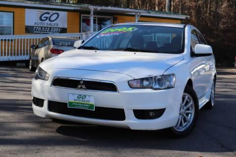 2011 Mitsubishi Lancer for sale at Go Auto Sales in Gainesville GA