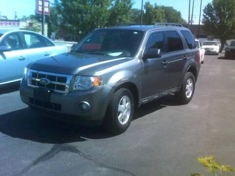 2012 Ford Escape for sale at University Auto Sales Inc in Pocatello ID