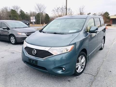 2012 Nissan Quest for sale at Atlanta Motor Sales in Loganville GA