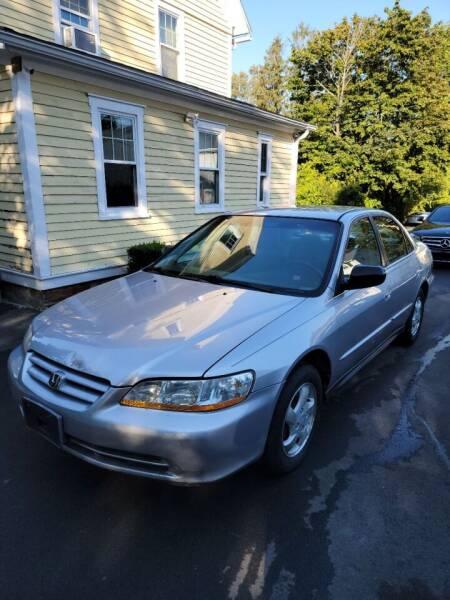 2002 Honda Accord for sale at F & Z MOTORS LLC in Waterbury CT