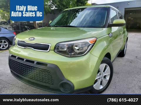 2015 Kia Soul for sale at Italy Blue Auto Sales llc in Miami FL