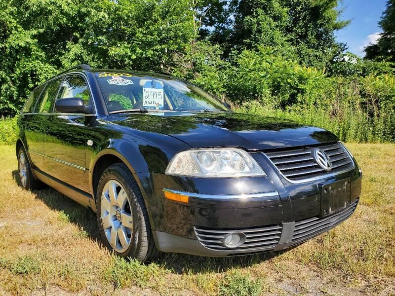 2003 Volkswagen Passat for sale at Oxford Auto Sales in North Oxford MA
