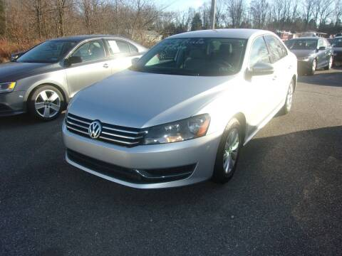 2013 Volkswagen Passat for sale at ULRICH SALES & SVC in Mohnton PA