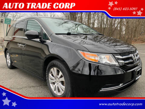 2014 Honda Odyssey for sale at AUTO TRADE CORP in Nanuet NY