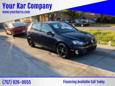 2013 Volkswagen GTI for sale at Your Kar Company in Norfolk VA