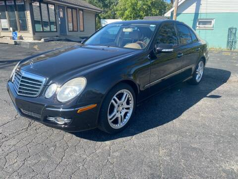 2008 Mercedes-Benz E-Class for sale at MARK CRIST MOTORSPORTS in Angola IN