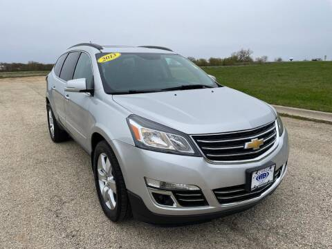 2013 Chevrolet Traverse for sale at Alan Browne Chevy in Genoa IL