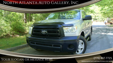 2010 Toyota Tundra for sale at North Atlanta Auto Gallery, Inc in Alpharetta GA
