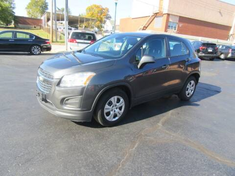2016 Chevrolet Trax for sale at Riverside Motor Company in Fenton MO