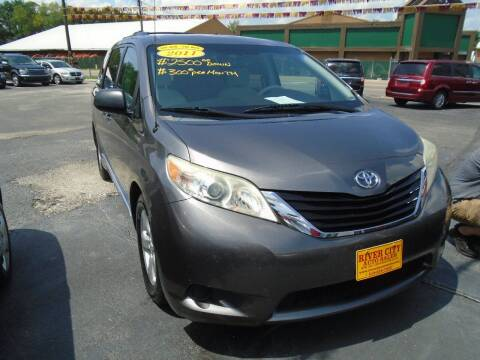 2011 Toyota Sienna for sale at River City Auto Sales in Cottage Hills IL