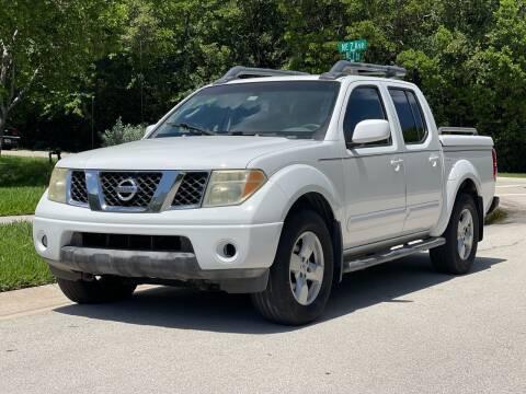 2005 Nissan Frontier for sale at L G AUTO SALES in Boynton Beach FL