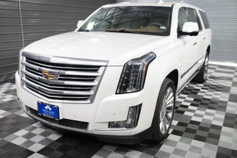2016 Cadillac Escalade ESV for sale at TRUST AUTO in Sykesville MD
