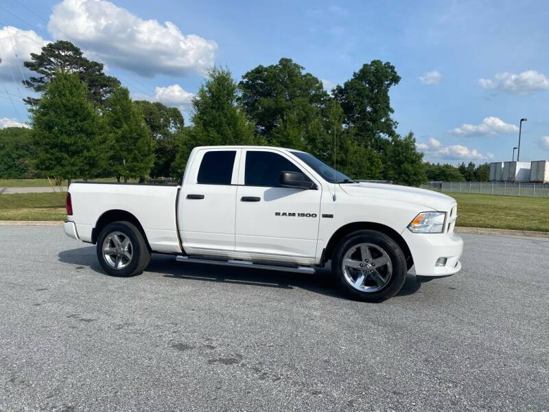 2012 RAM Ram Pickup 1500 for sale at GTO United Auto Sales LLC in Lawrenceville GA