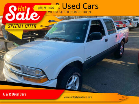 2003 Chevrolet S-10 for sale at A & R Used Cars in Clayton NJ