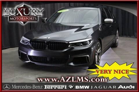 2019 BMW 5 Series for sale at Luxury Motorsports in Phoenix AZ